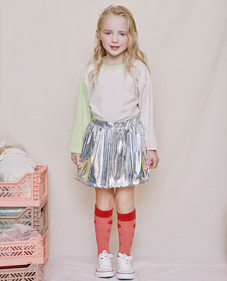 Disco Sparkling Skirt (Inner Pants)