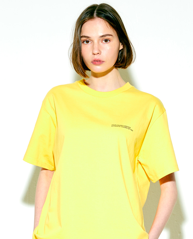 AUTHENTIC T-SHIRT(AUTHENTIC YELLOW)