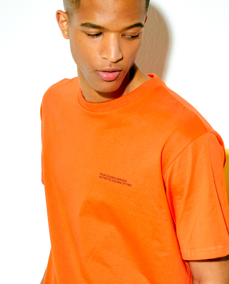 AUTHENTIC T-SHIRT(AUTHENTIC ORANGE)
