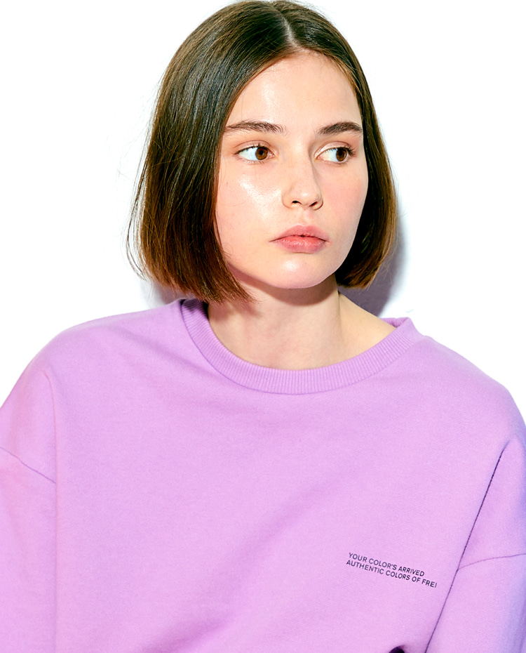 AUTHENTIC SWEATSHIRT(AUTHENTIC PURPLE)