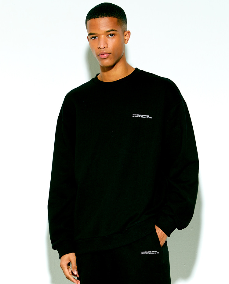 AUTHENTIC SWEATSHIRT(BLACK)