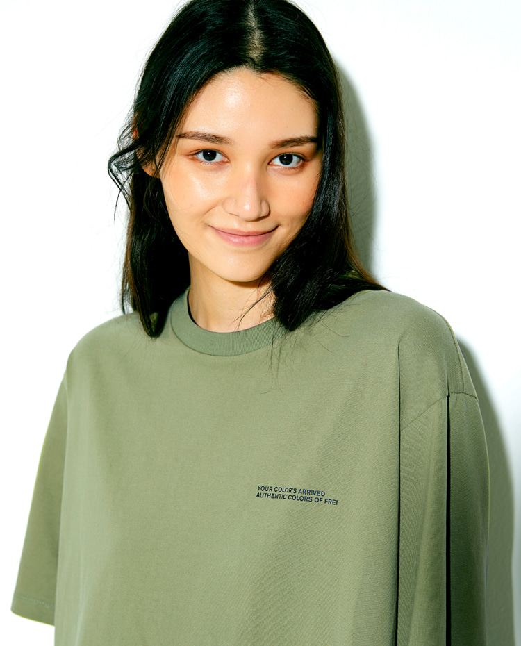 AUTHENTIC T-SHIRT(OLIVE)